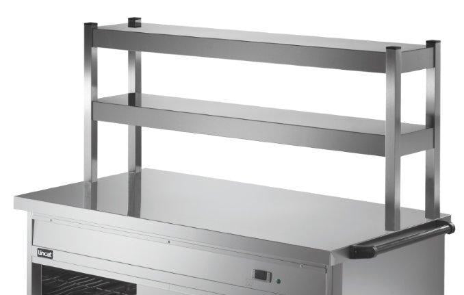 Lincat PS3A2 Two Tier Ambient Overshelf,Hot Cupboard Accessories,Lincat