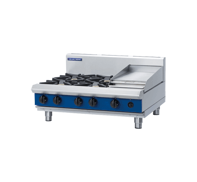 Blue Seal Evolution Series G516C-B - 900mm Gas Cooktop/Griddle,Griddles - Gas,Blue Seal
