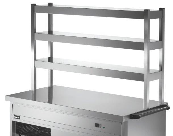 Lincat PS6A3 Three Tier Ambient Overshelf,Hot Cupboard Accessories,Lincat