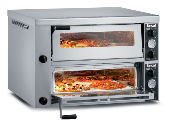 Lincat PO430-2 Electric Pizza Oven Twin deck,Pizza Ovens,Lincat