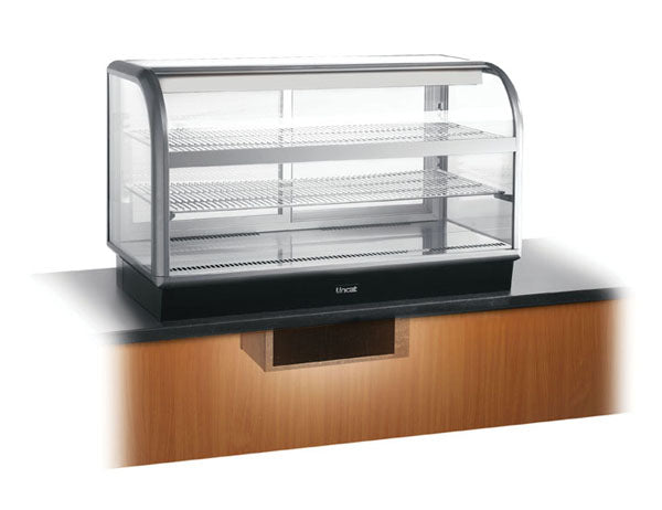 Seal C6R/125BU Curved Front Ref. Merchandiser,Refrigerated Displays,Lincat