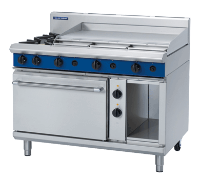 Blue Seal Evolution Series GE508A - 1200mm Gas Range Electric Static Oven,Oven Ranges,Blue Seal