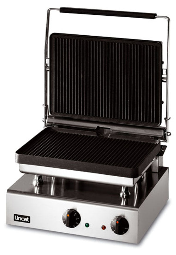Lincat GG1P Electric Pannini Grill Large - ribbed top and bottom,Contact Grills,Lincat