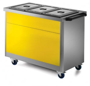 Lincat P62YELLOW Yellow Front Fascia for 670 Series 2GN models,Hot Cupboard Accessories,Lincat