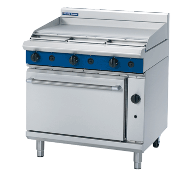 Blue Seal Evolution Series G506A - 900mm Gas Griddle Static Oven,Oven Ranges,Blue Seal