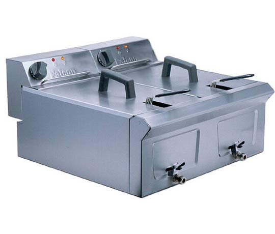 Falcon LD56 Electric Twin Fryer,Fryers - Electric,Falcon
