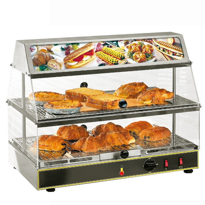 Roller Grill WDL200 Counter Top Heated Display Unit 590W x 350D x 480H (mm) 0.65kW,Heated Display,Roller Grill