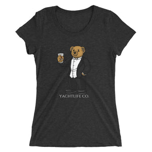 Tuxedo Anthony Ladies' Short Sleeve T-Shirt - YACHTLIFE CO.