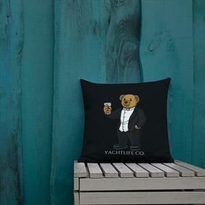 Tuxedo Anthony The Bear Premium Pillow - YACHTLIFE CO.
