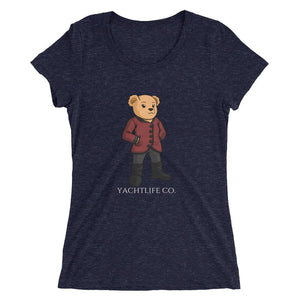 Sofia The Bear Ladies' Short Sleeve T-shirt - YACHTLIFE CO.