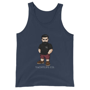 Casual Mr.Yachtlife Tank Top - YACHTLIFE CO.