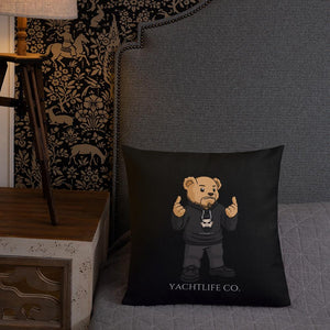 Erwin The Bear Premium Pillow - YACHTLIFE CO.