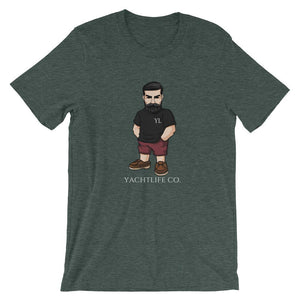 Casual Mr.Yachtlife Classic Fit T-Shirt - YACHTLIFE CO.