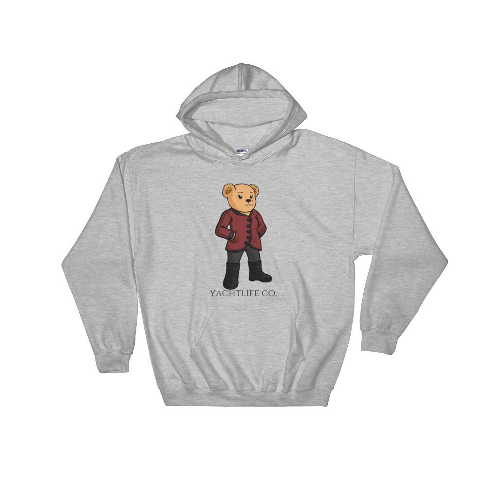 Sofia The Bear Hooded Sweatshirt - YACHTLIFE CO.
