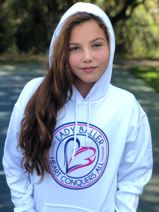 Heart Conquers All Hoodie