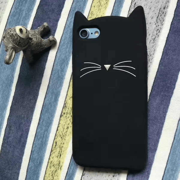 MeowUp phone case black / For iphone5 5S SE Cat Ears Case