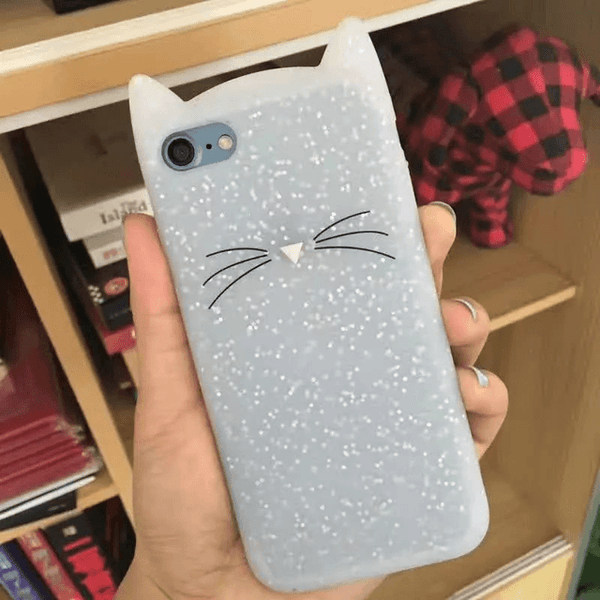 MeowUp phone case glitter / For iphone5 5S SE Cat Ears Case