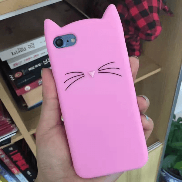 MeowUp phone case light pink / For iphone5 5S SE Cat Ears Case