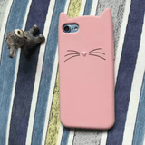 MeowUp phone case pink / For iphone5 5S SE Cat Ears Case