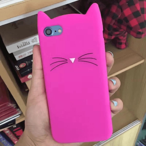 MeowUp Cat iPhone Case, iPhone case For iphone5 5S SE Cat Ears Case,