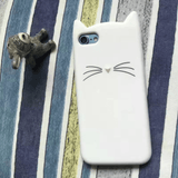 MeowUp phone case white / For iphone5 5S SE Cat Ears Case