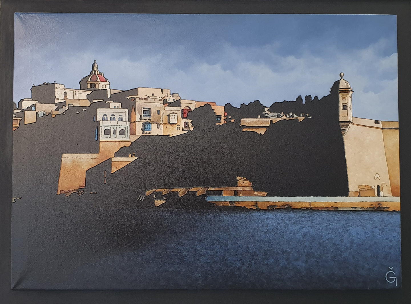 Senglea from Grand Harbour (2019)