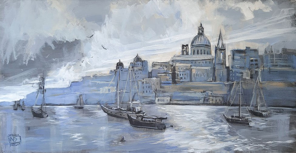 Stormy Skies over Valletta (2019)