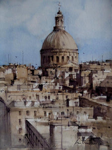 Overlooking Valletta (2017)