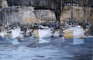 Boats in Harbour (2018)