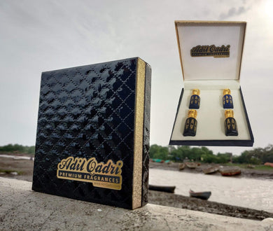 Adil Qadri EXCLUSIVE Premium Quality PURE Attar GIFT BOX