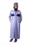 Adilqadri Arabic Jubba Thobe High Quality Islamic Wear 2021 Designs No.AQ0016
