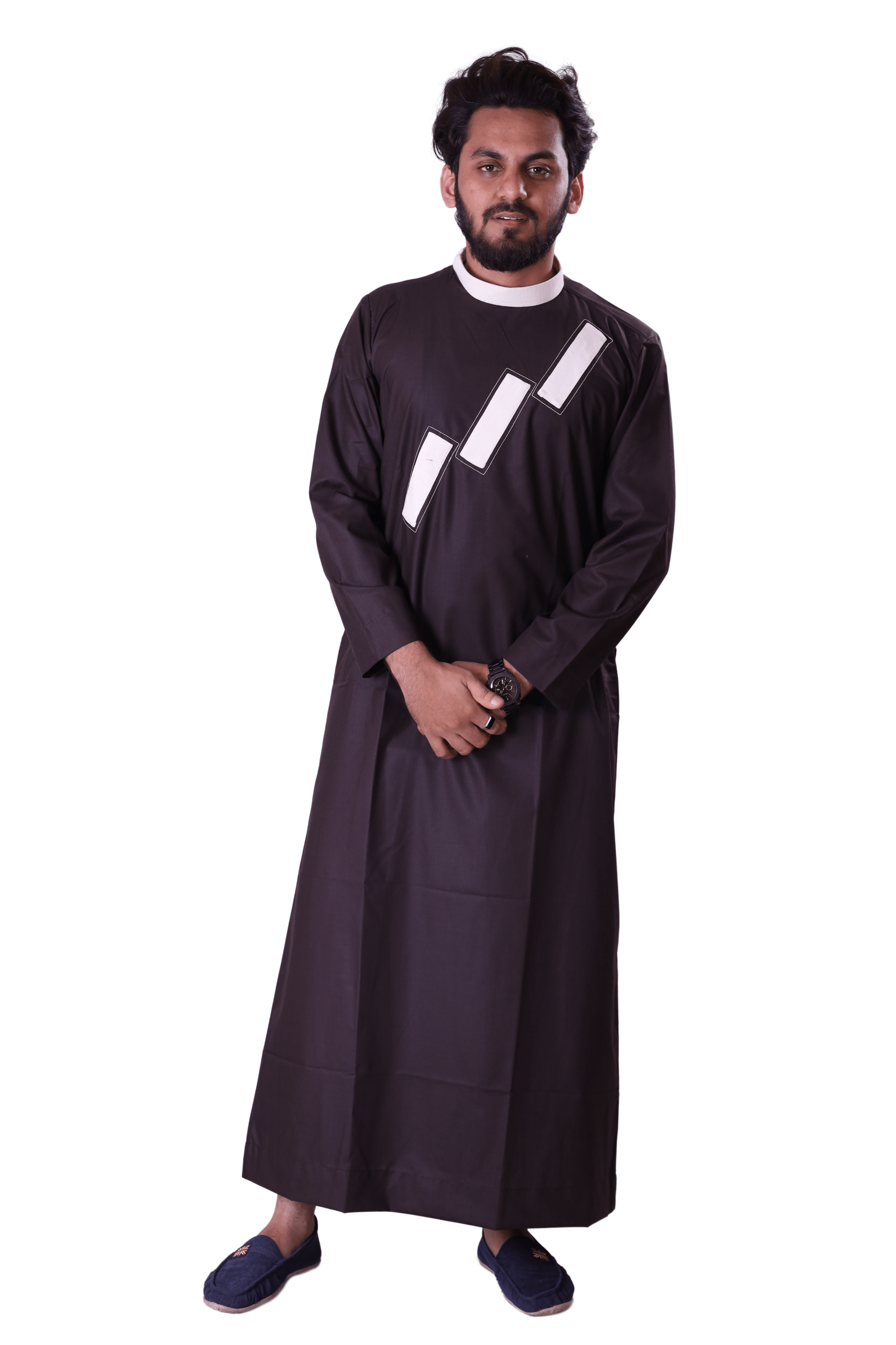 Adilqadri Arabic Jubba Thobe High Quality Islamic Wear 2021 Designs No.AQ0032