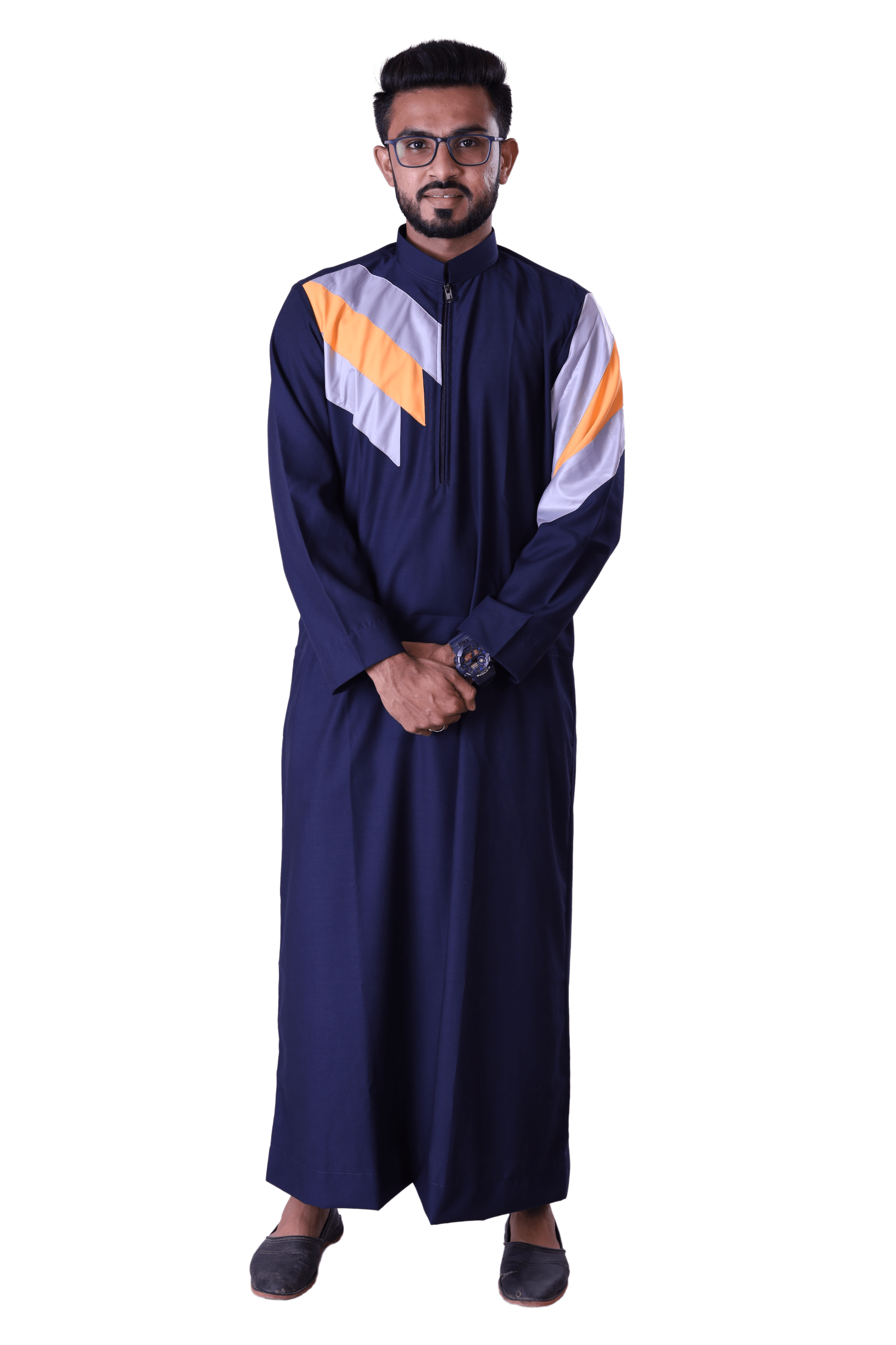 Adilqadri Arabic Jubba Thobe High Quality Islamic Wear 2021 Designs No.AQ0041