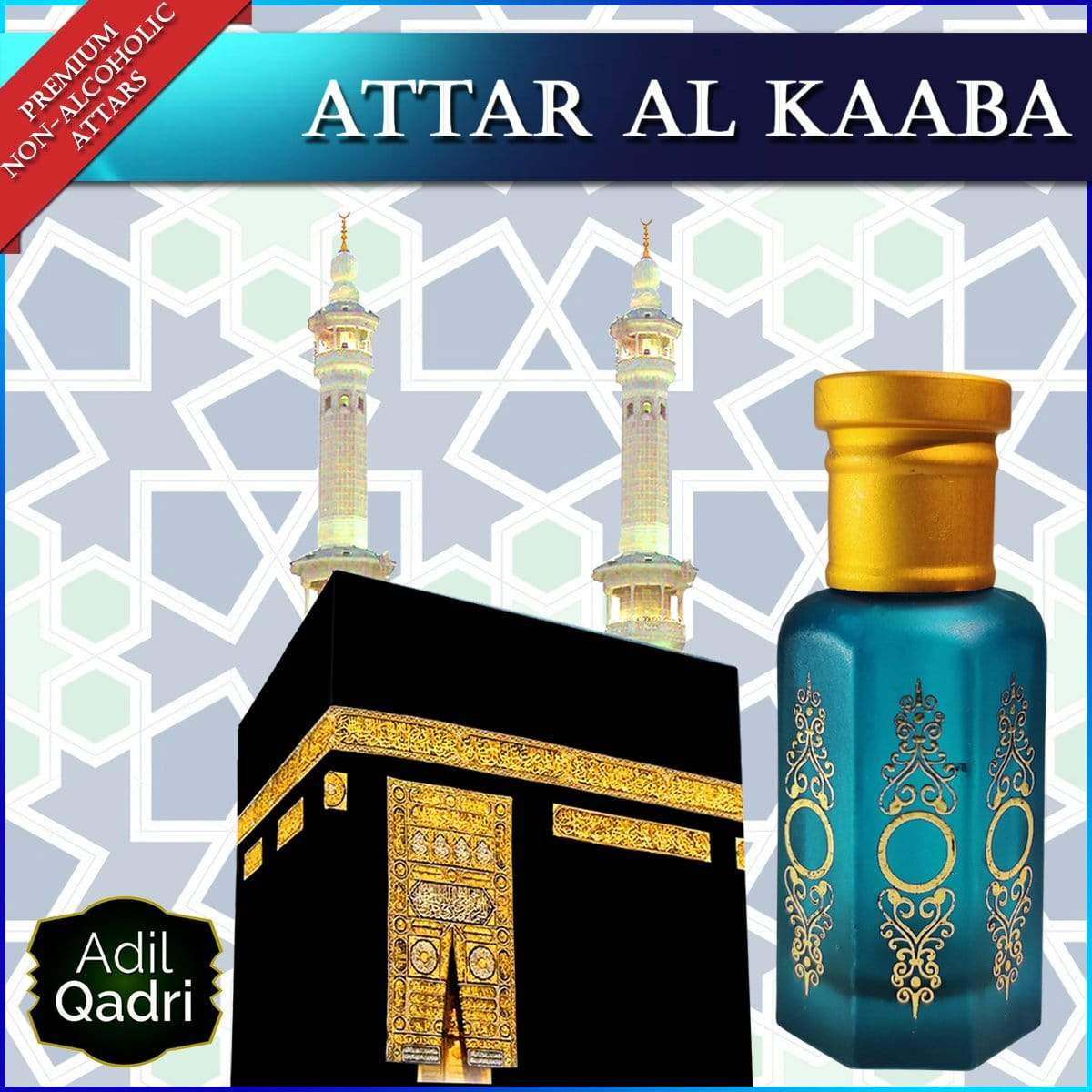 Adilqadri ATTAR AL KAABA Premium Quality Synthetic Attar