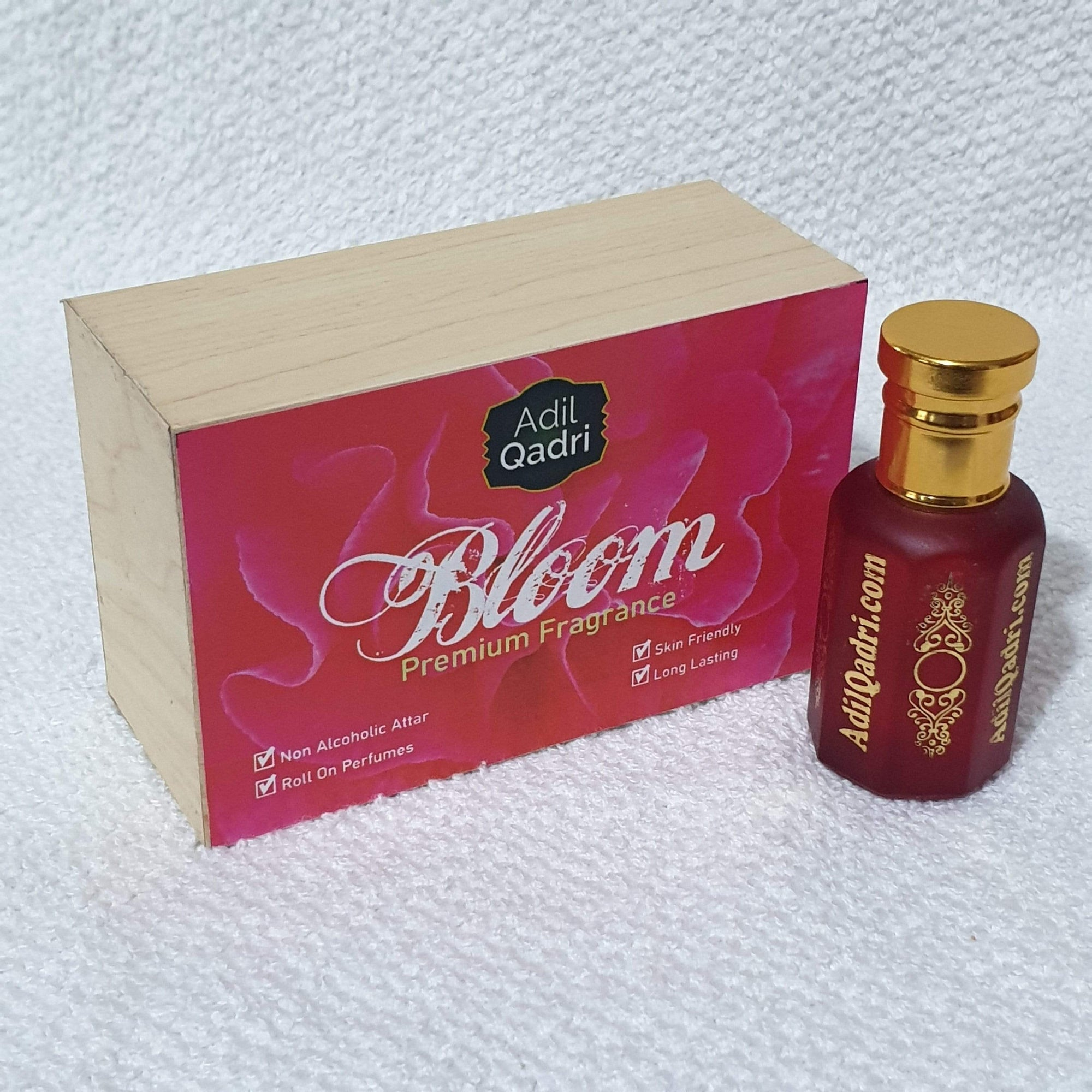 Adilqadri Bloom  Premium Quality  10 Ml. Synthetic Attar With Atractive Wooden Box