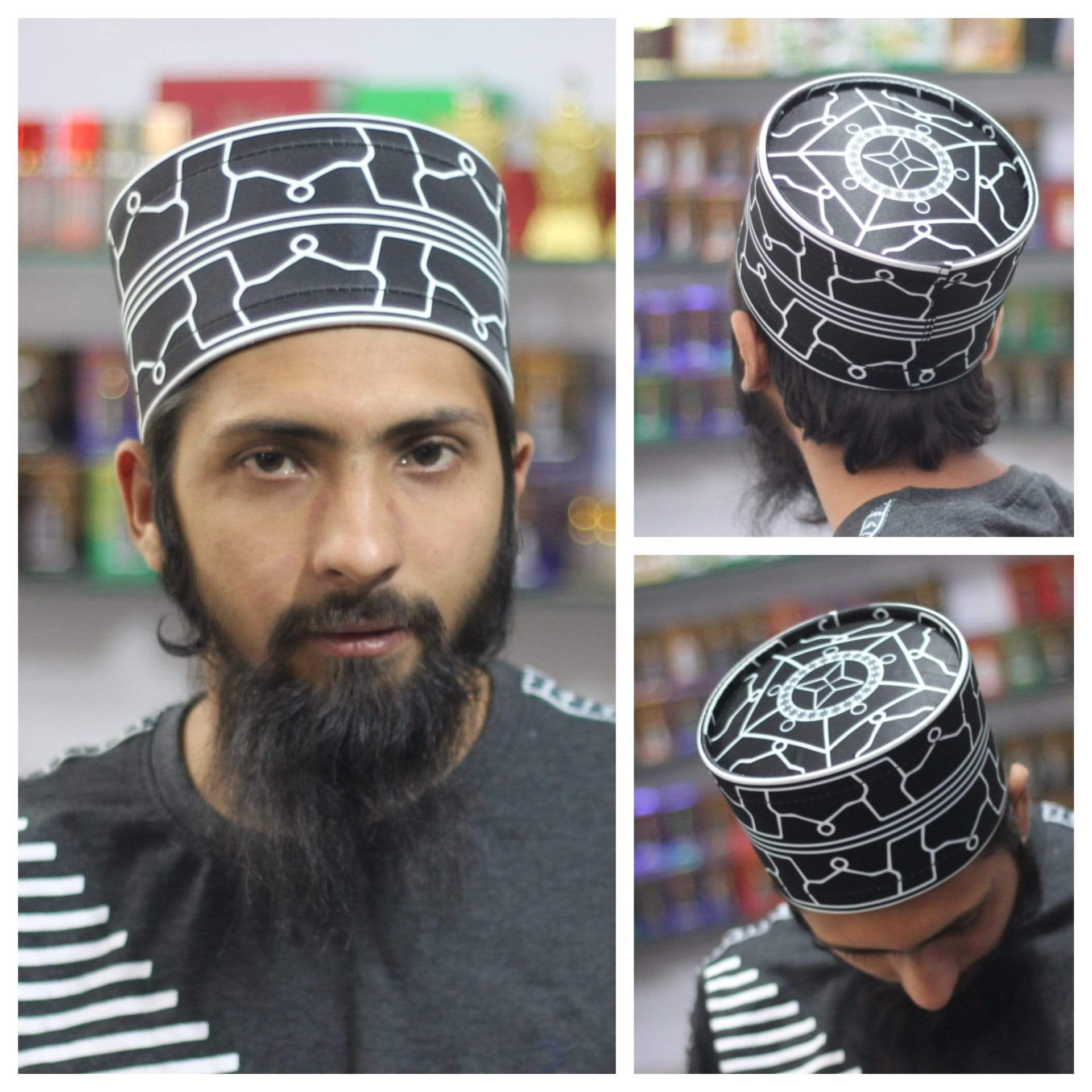 AdilQadri Daily Wear Series 2020 Dome Model Hand Made Stylish Designer Islamic Cap #AQCAP