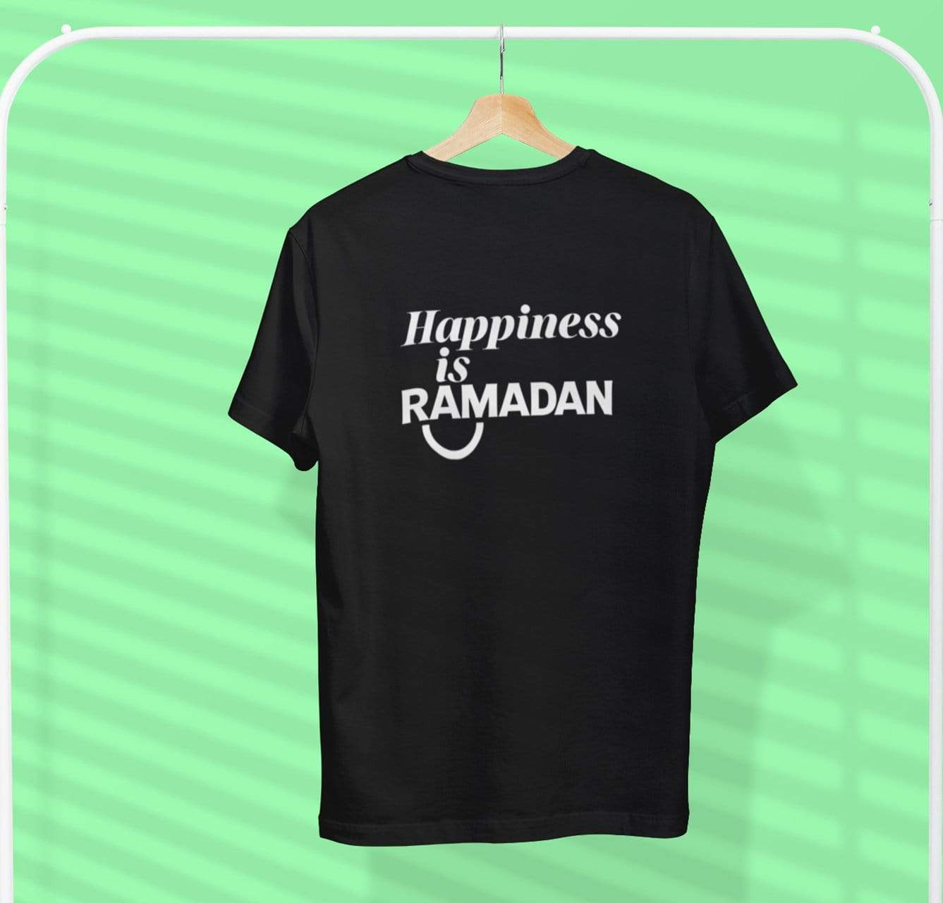 AdilQadri Limited Edition Happiness Is Ramadan Round Neck T-Shirt