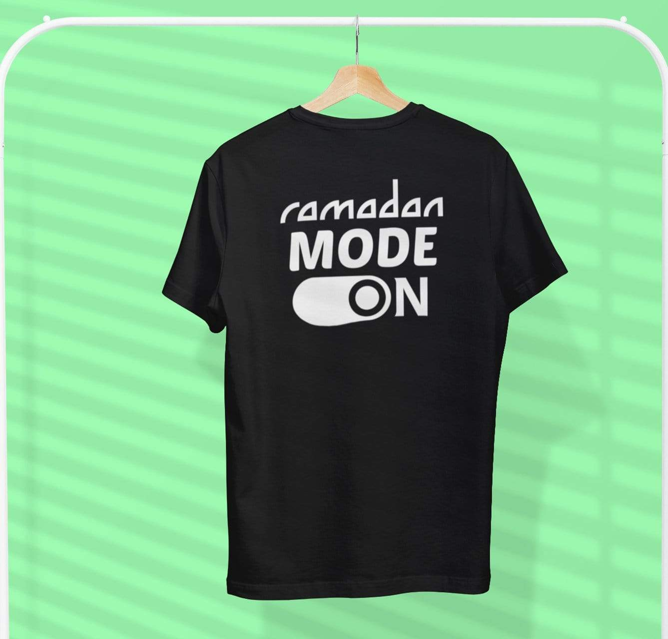 AdilQadri Limited Edition Ramadan Mode On Round Neck T-Shirt