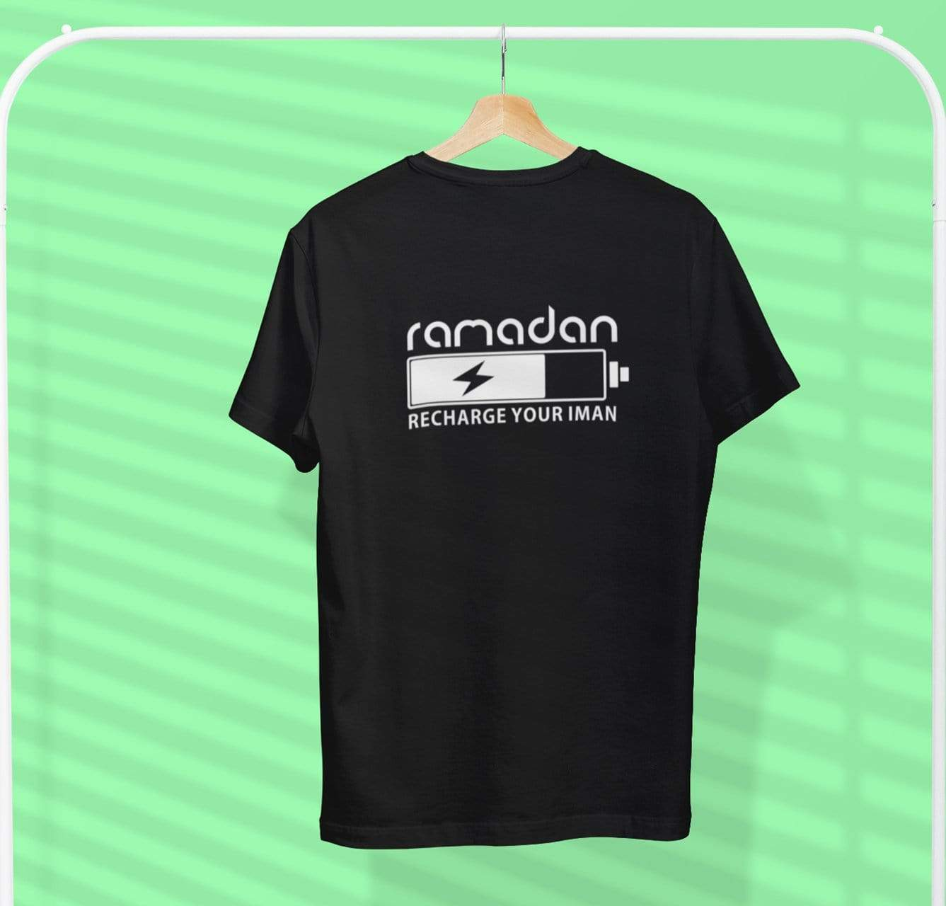 AdilQadri Limited Edition Ramadan Recharge Your Iman Round Neck T-Shirt