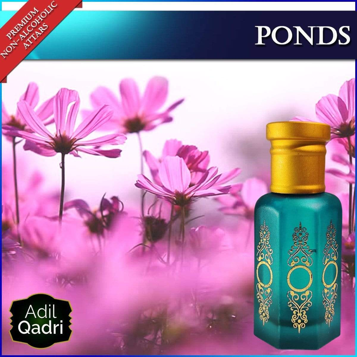 Adilqadri PONDS long lasting and very Addictive Premium Quality Synthetic Attar
