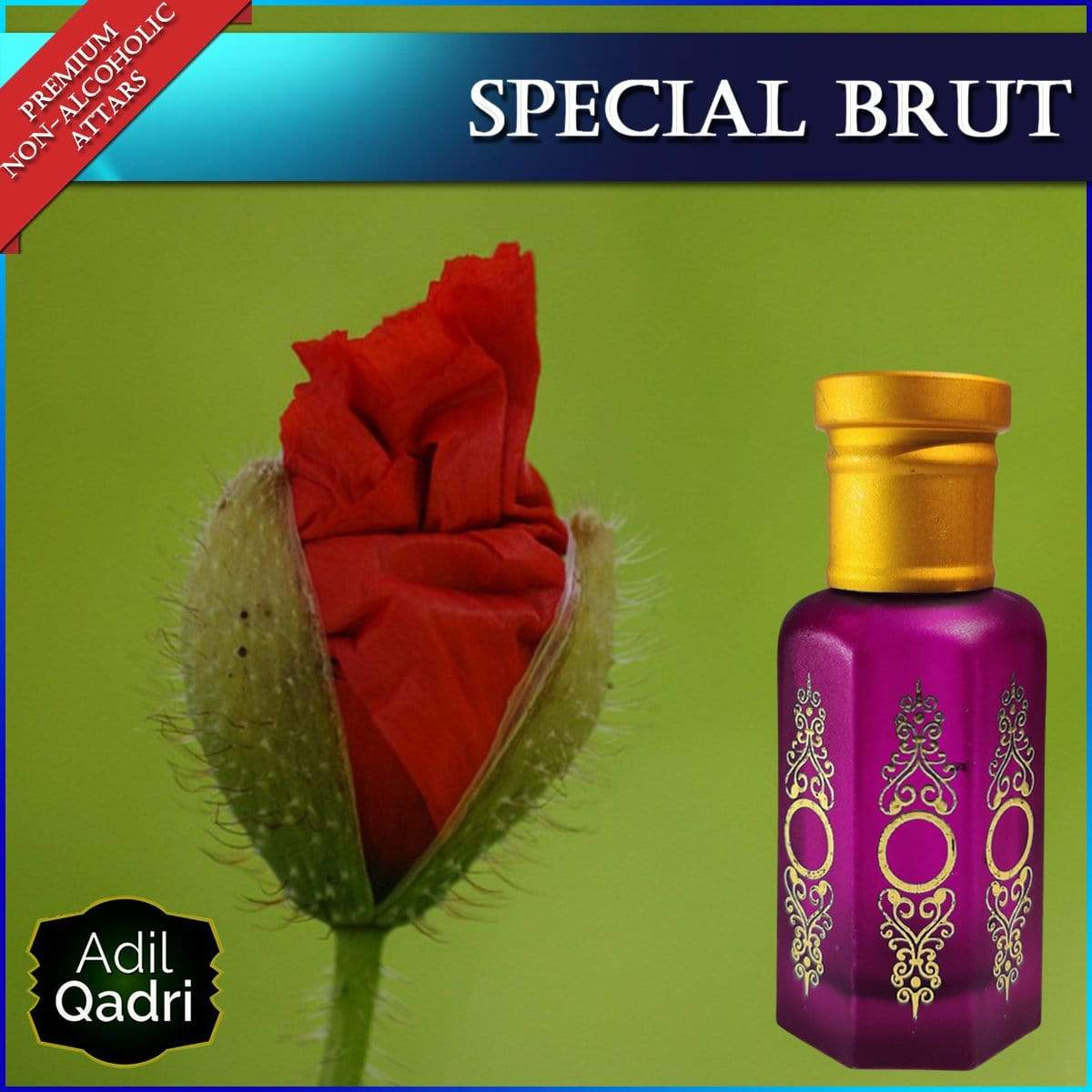 Adilqadri  Sp. BRUT Premium Quality Synthetic Attar