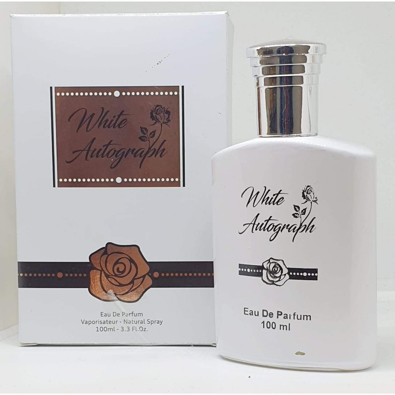 Adil qadri White Autograph  Perfume spray  100 ml.