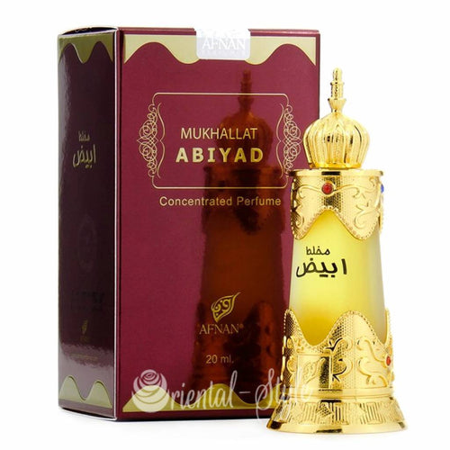 AFNAN MUKHALLAT ABIYAD Attar Pure Imported For U.A.E.  Mens And Womens