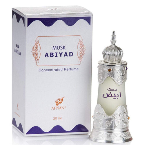 Buy Afnan Musk Abiyad Attar Pure Imported For Mens And Womens Online in india | Adilqadri.com