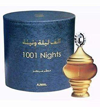 Ajmal 1001 Nights ATTAR  Perfume Oil 30ml Pure Imported Orignal