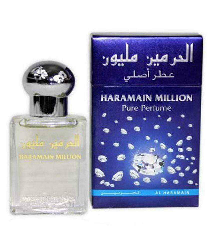 Al Haramain 1 MILION Pure Imported Synthetic Attar Perfume 15ml