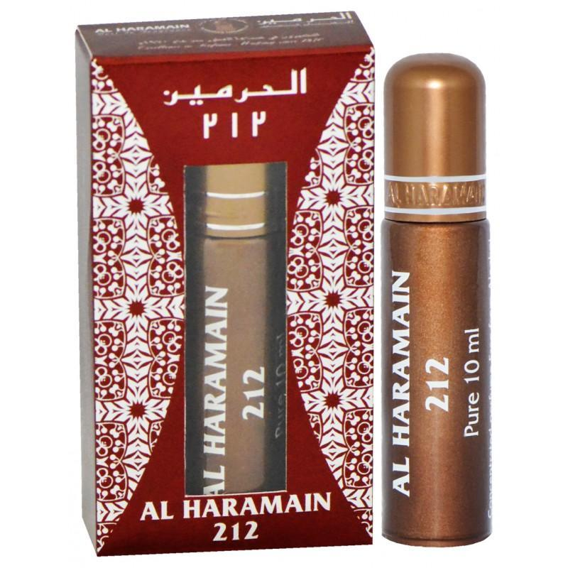 Buy Al Haramain 212 Pure Imported Attar Perfume 10ml Online in india | Adilqadri.com