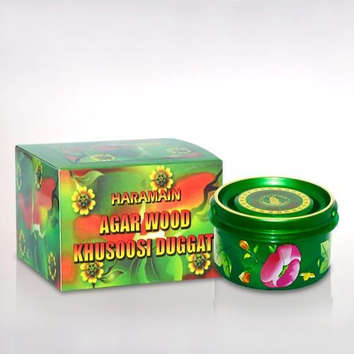Buy Al Haramain Agarwood Khusoosi Duggat Pure Original Bakhoor Wood Sticks - 50g Online in india | Adilqadri.com