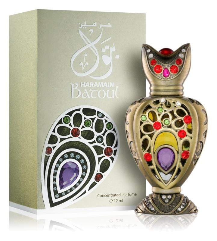 Al Haramain Synthetic Attar  Batoul 12 ml  Concentrated Perfume Oil /   Imported Synthetic Attar  (U A E  Dubai)