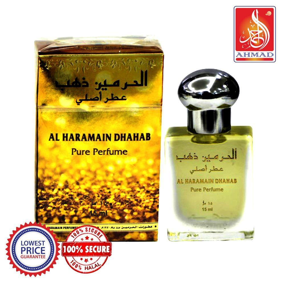 Buy Al Haramain DHAHAB Pure Imported Attar Perfume 15ml Online in india | Adilqadri.com